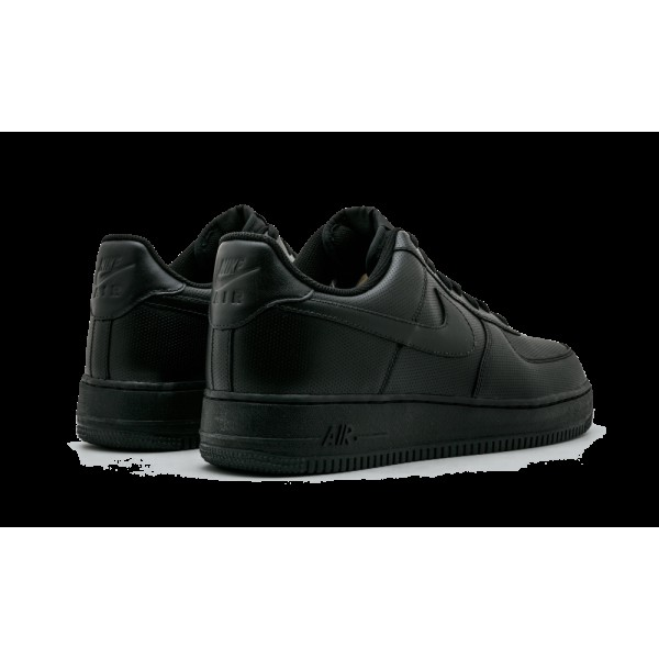 "Nike Air Force 1 07 Low Noir ""Perf "" Chaussures de Homme 315122-030"