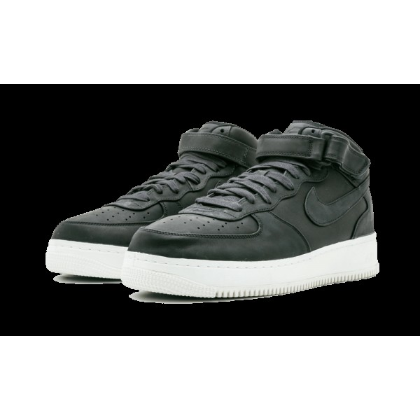 Nike Air Force 1 One Mid 905619-001 Noir Voile DS